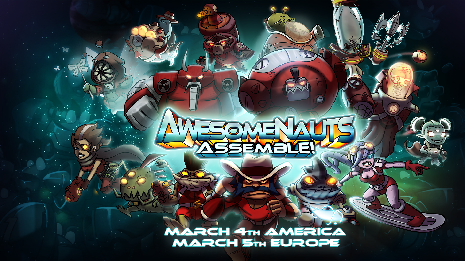 Awesomenauts Assemble!