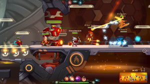 Awesomenauts screenshot 1