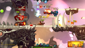 Awesomenauts screenshot 2