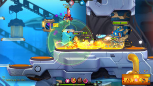Awesomenauts screenshot 5