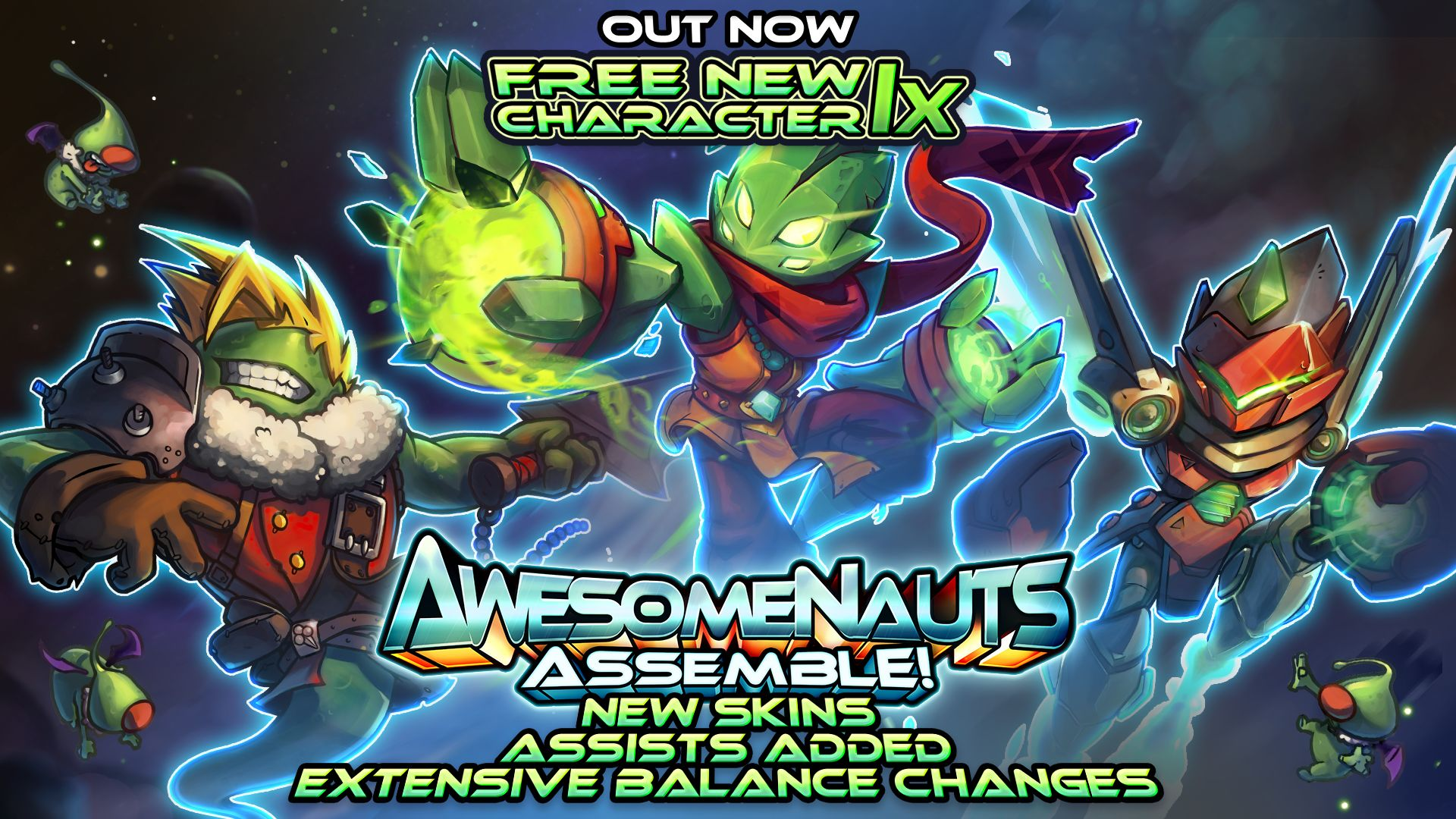 awesomenauts-assemble-update-1-6-out-now