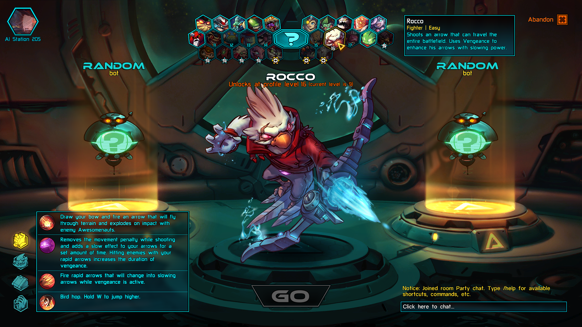 awesomenauts_character_select