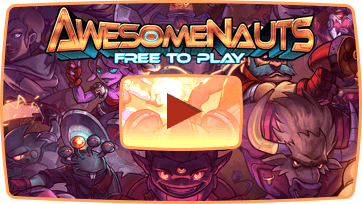 Watch the trailer for Awesomenauts, the free 2D MOBA!